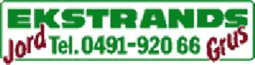 Ekstrands Jord & Grus AB logo