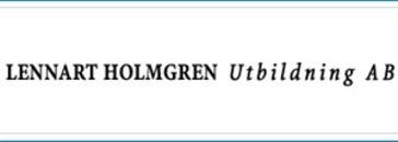 Lennart Holmgren Utbildning AB logo