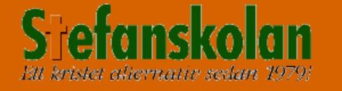 Stefanskolan logo