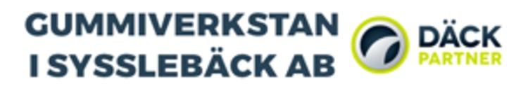 Gummiverkstan i Sysslebäck AB logo