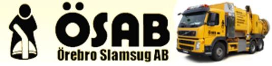 Ösab Örebro Slamsug AB logo