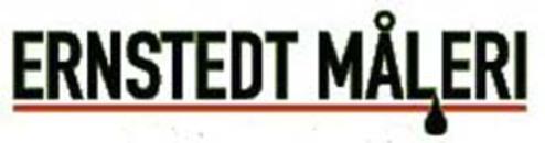 Ernstedt Måleri logo