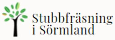 Stubbfräsning i Södermanland logo