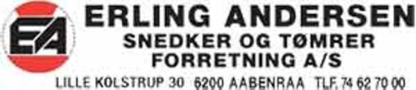 Erling Andersen Snedker- og Tømrerforretning A/S logo