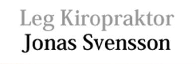 Leg. Kiropraktor Jonas Svensson AB logo