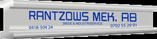Rantzows Mek. AB Industriservice logo
