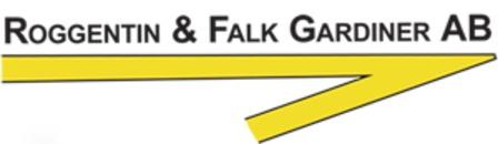 Roggentin & Falk Gardiner AB logo