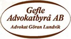 Gefle Advokatbyrå AB logo