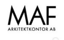 MAF Arkitektkontor AB logo
