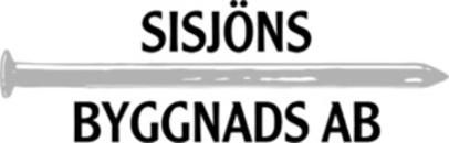 Sisjöns Byggnads AB logo