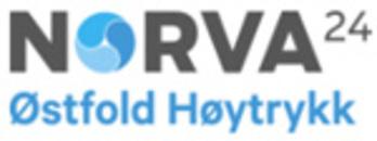 Norva24 Østfold Høytrykk logo