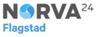 Norva24 Flagstad logo
