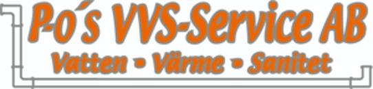 P-O's VVS Service AB logo