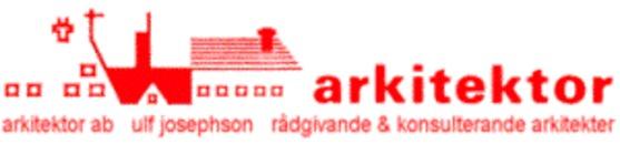 Arkitektor Ulf Josephson AB logo