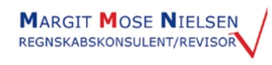Revisor Margit Mose Nielsen logo