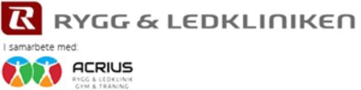 Trollhättan Rygg & Ledklinik AB (Acrius AB) logo