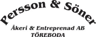 Persson & Söner Åkeri & Entreprenad AB logo