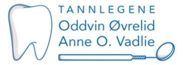 Tannlege Øvrelid logo