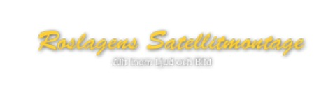 Roslagens Satellitmontage logo