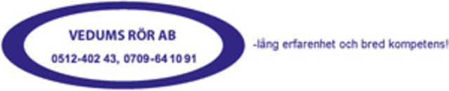 Vedums Rör, AB logo
