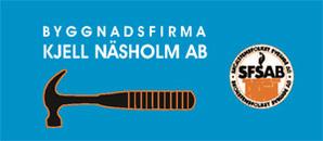 Byggnadsfirman Kjell Näsholm AB logo