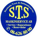 S.T.S, Stockholm Truck- & Städmaskinservice logo