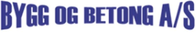 Bygg og Betong AS logo
