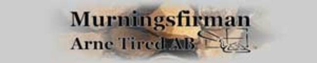 Murningsfirma Arne Tired logo