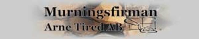 Murningsfirma Arne Tired logo