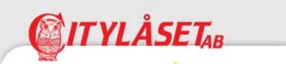 Citylåset AB logo