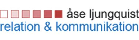 åse ljungquist relation och kommunikation ab logo