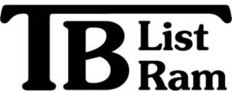 T B List & Ram AB logo