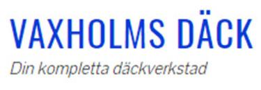 Vaxholms Däck & Bilglas logo