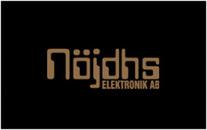 Nöjdhs Elektronik AB logo