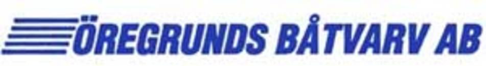ÖregrundsBåtvarv AB logo