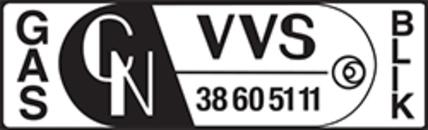 charles nielsen VVS a/s logo
