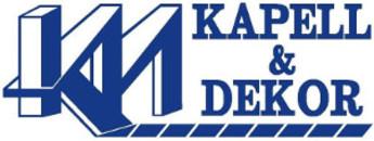 KM Kapell & Dekor AB logo