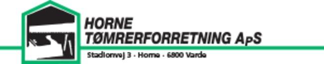 Horne Tømrerforretning ApS logo