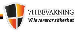 7H Bevakning logo