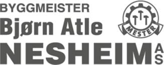 Byggmester Bjørn Atle Nesheim AS logo