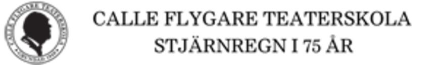 Calle Flygare Teaterskola logo