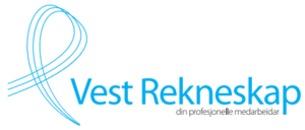Vest Rekneskap AS logo
