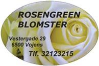Rosengreen Blomster logo