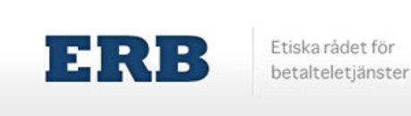 Etiska Rådet för Betalteletjänster ERB logo