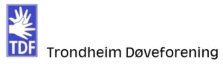 Trondheim Døveforening logo