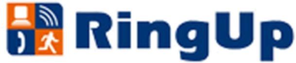 RingUp TeleData logo