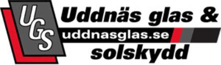 Uddnäs Glas & Solskydd logo