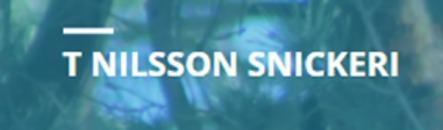 T Nilsson Snickeri AB logo