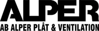 Alper Plåt & Ventilation, AB logo