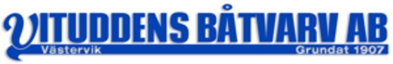 Vituddens Båtvarv logo